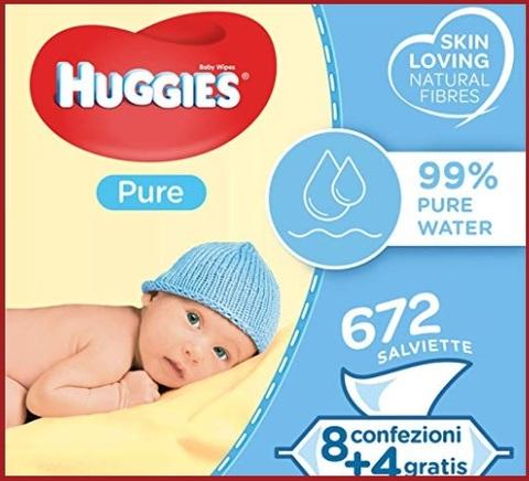 Salviettine cambio pannolino neonato