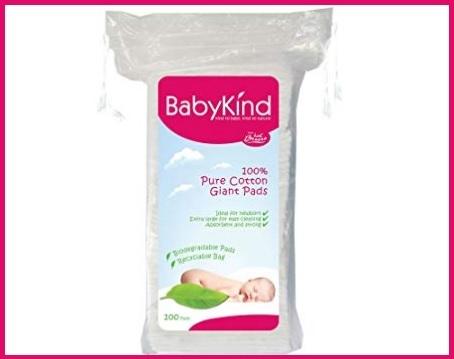 Salviettine in cotone per neonati