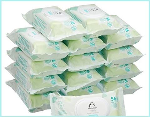 Salviette neonato biodegradabili