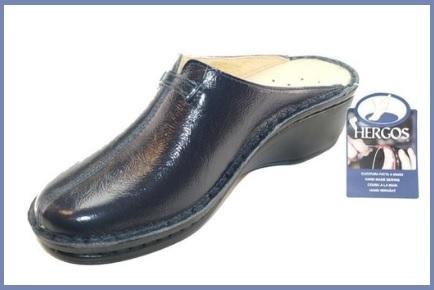 Sandali in pelle e tacco da donna antiscivolo