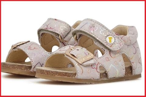 Sandaletti Per Bambina Con Fantasie Floreali
