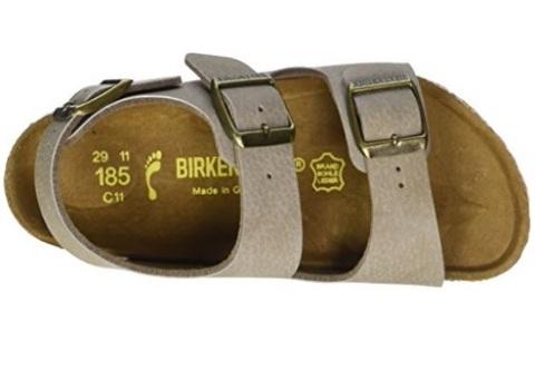 Sandalo birkenstock per bambini con caviglia