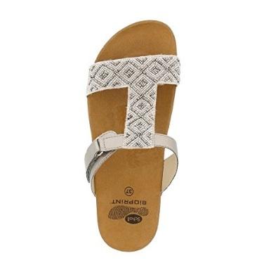 Sandali aperti con perline per donna