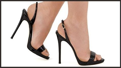 Sandali con tacco alto donna