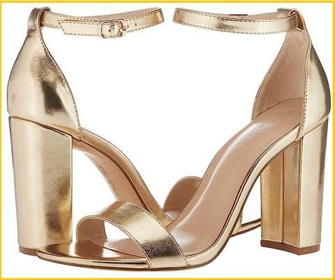 Sandalo gioiello oro con plateau