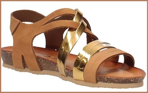 Sandali etnici cuoio