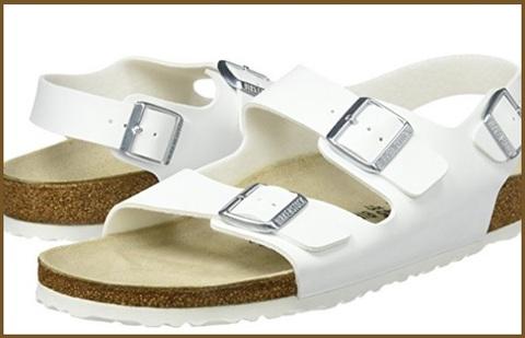 Sandali uomo bianchi