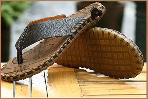 Sandali uomo in pelle eleganti