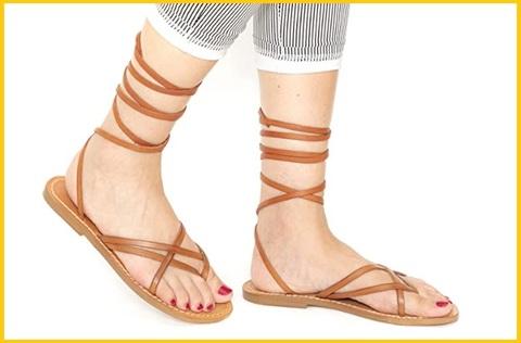 Sandali cuoio donna artigianali