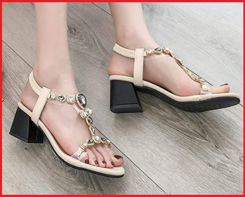 Sandalo elegante gioielli