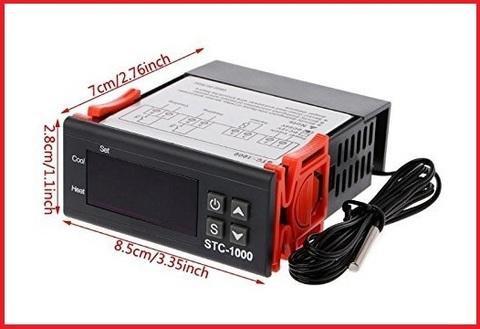 Termostato digitale con sensore raffreddamento riscaldamento