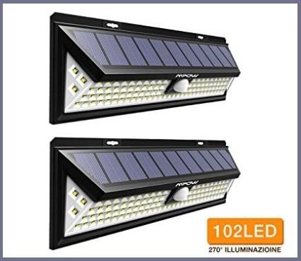 Pannelli solari installato