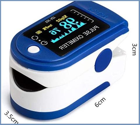 Saturimetro pulsossimetro digitale professionale