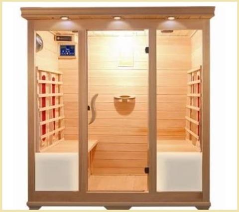 Sauna finlandese da interno
