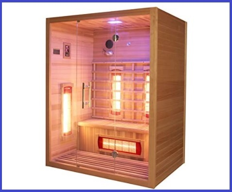 Sauna esterna completa