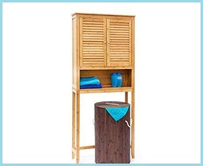 Scaffale lavatrice legno