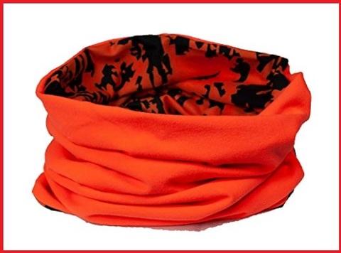 Scaldacollo arancione caccia