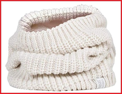 Scaldacollo bianco cotone