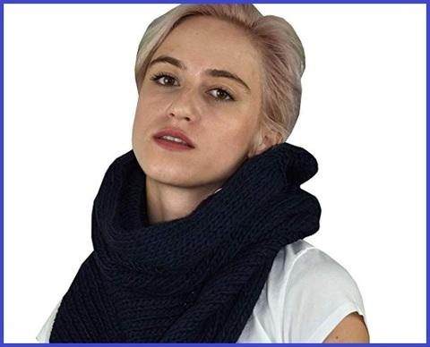 Scaldacollo donna invernale lana