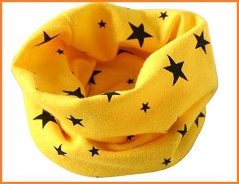 Scaldacollo giallo bambino