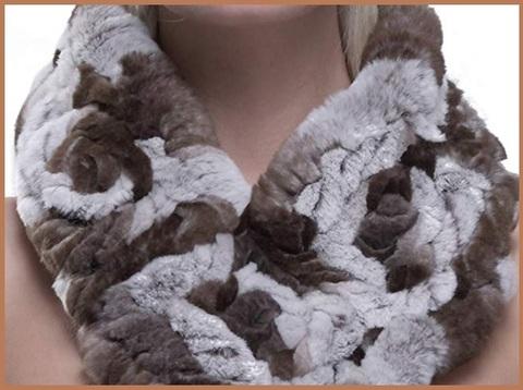 Scaldacollo pelliccia donna