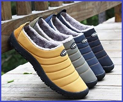 Scaldapiedi pantofole uomo
