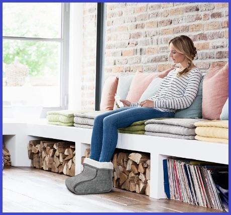 Scaldapiedi elettrico scarpe