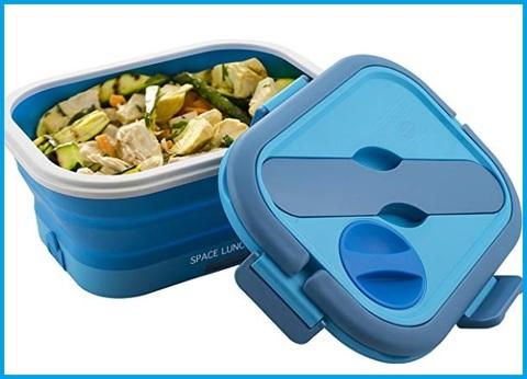 Scaldavivande blu elettrico lunch to go