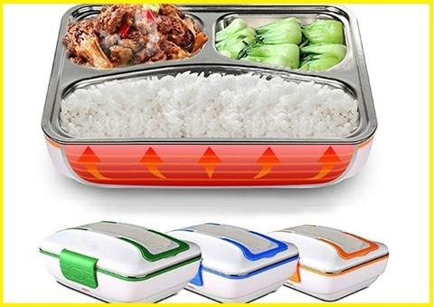 Scaldavivande elettrico scomparti lunch
