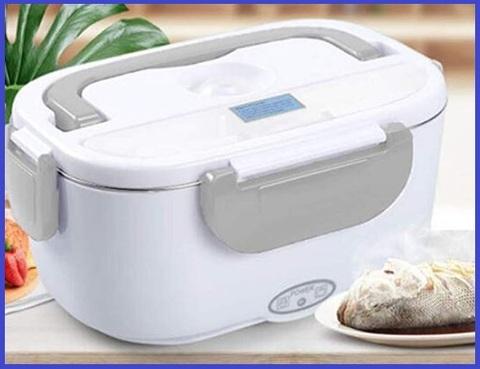 Scaldavivande elettrico inox lunch box