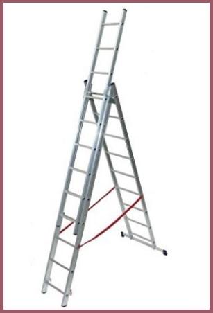 Scala allungabile con 9 scalini