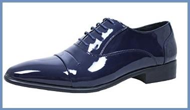 Scarpe eleganti da uomo blu