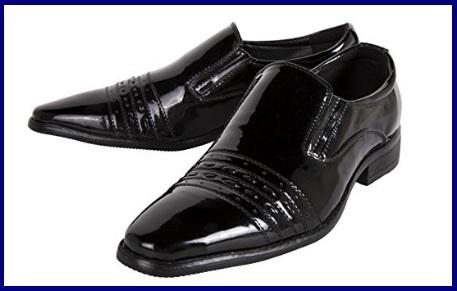 Scarpe eleganti in pelle nera