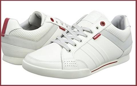 Scarpe Uomo Sneakers Bianche