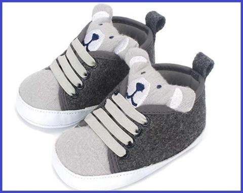 Scarpe neonato invernali morbide