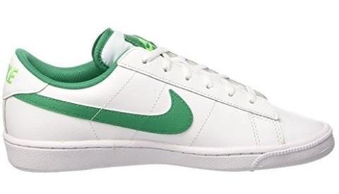 Scarpe da bambino classiche da tennis bianche e verde
