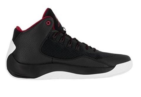 Scarpe Nike Jordan Rising High 2 Nere E Rosse Basket
