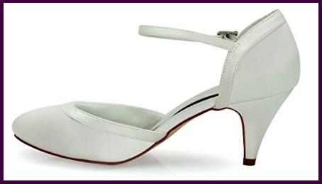 Scarpe sposa comode con tacco