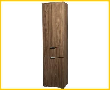 Scarpiera armadio legno 1 anta