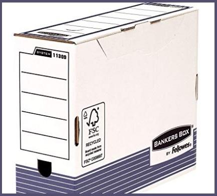 Scatole Archivio Documenti In Cartone