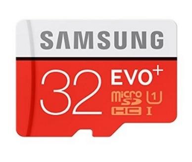 Microsd samsung evo 32 gb