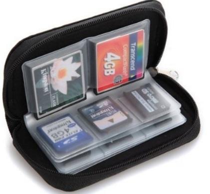 Astuccio porta schede memory 22 spazi