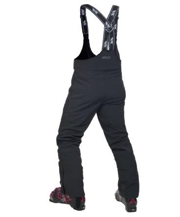 Pantaloni con bretelle per sci da uomo