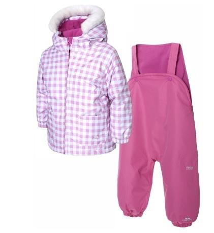 Tuta da sci per bambine con pantalone e giacca