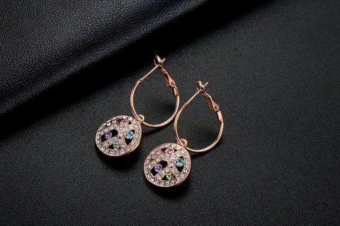 Offerte del giorno gioielli orecchini cristallo austriaco