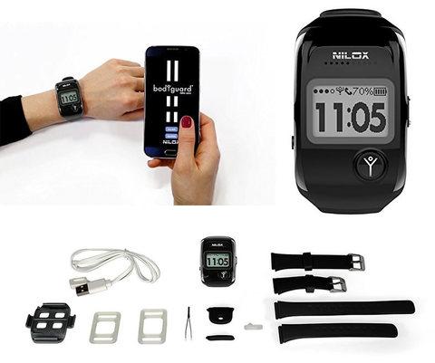 Nilox bodyguard smartwatch orologio localizzatore cellulare