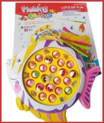 Gioco magnetico e classico per bambini con pesci magnetici