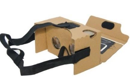 Cardboard realtà virtuale con smartphone