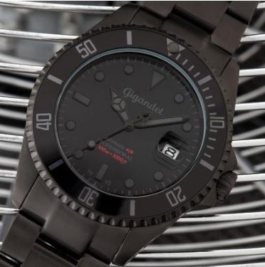 Orologio automatico total black sportivo da uomo