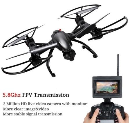 Elicottero drone con camera 360°